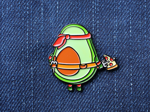 Ninja avocado - Enamel Pin