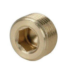 1/8 Knurled Pressure plugs BSP thread