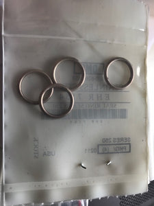 Stainless steel seal rings