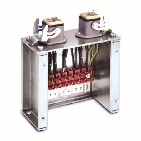 2 Zone prewired power-TC terminal boxes