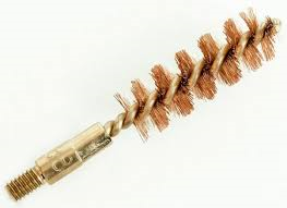 "Brass Barrel Brush 1 3/4"" (45mm) X 4 1/4"" long"