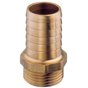 "Brass 1/4"" Barb with 1//2""  Hose Tail"
