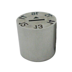 Date Stamp 6yr with arrow 12mm X 14mm
