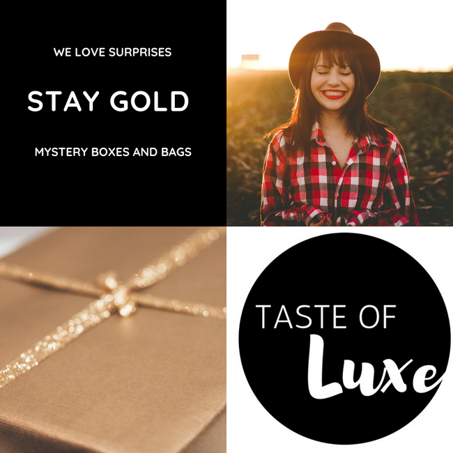 Stay Gold - Mystery Boxes & Bags