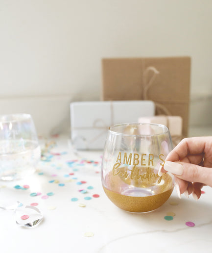 DIY Celebration Glass