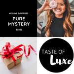 Mystery boxes, fun, surprise, treat, for yourself, for others, self care, self love