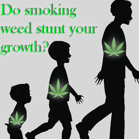 Do smoking weed stunt your growth