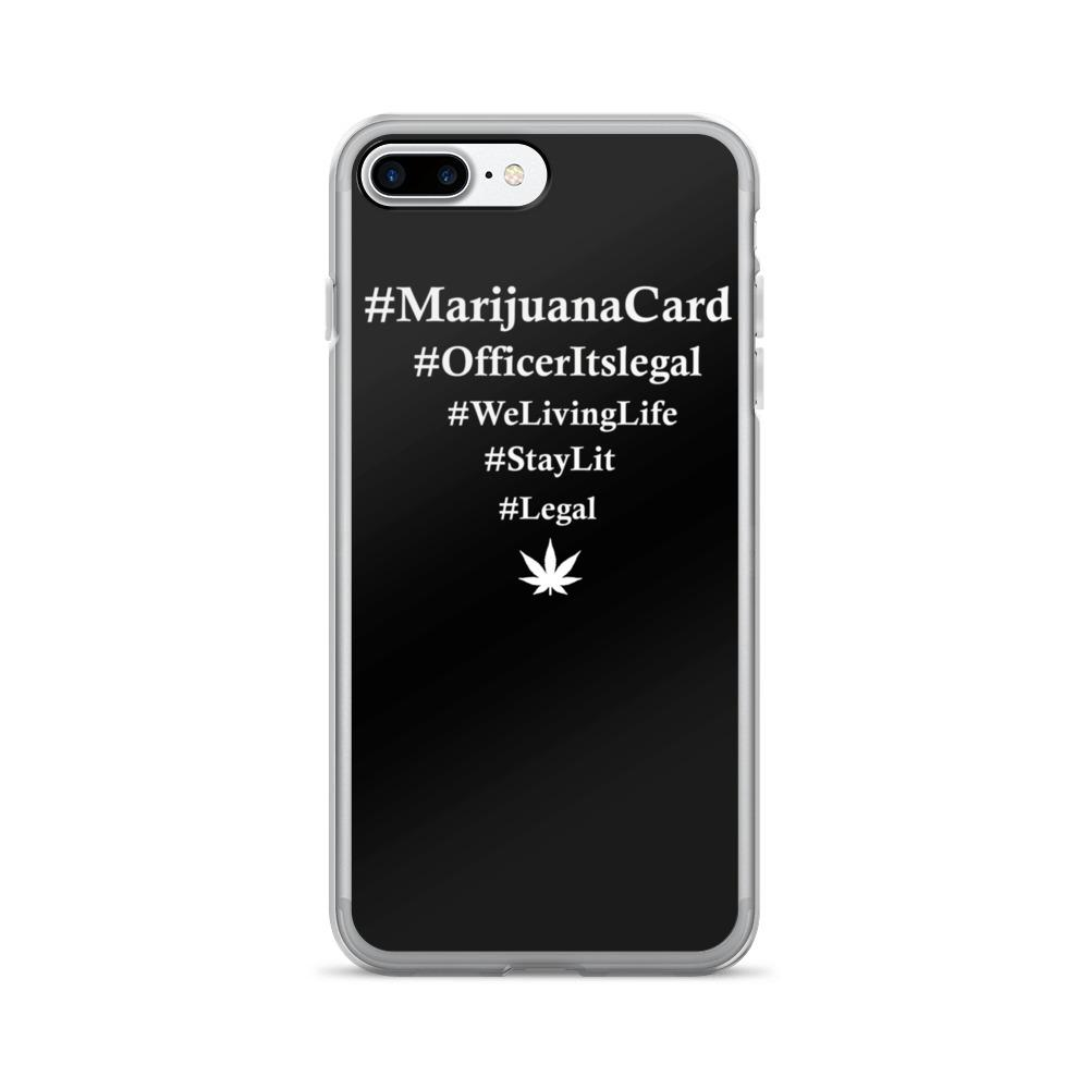 #Legalize iPhone 7/7 Plus Case - 420 Weed Shirts