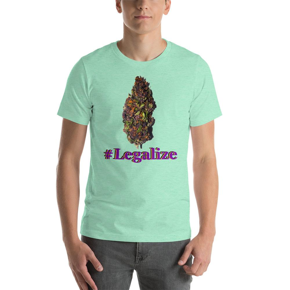 shirt with weed bud