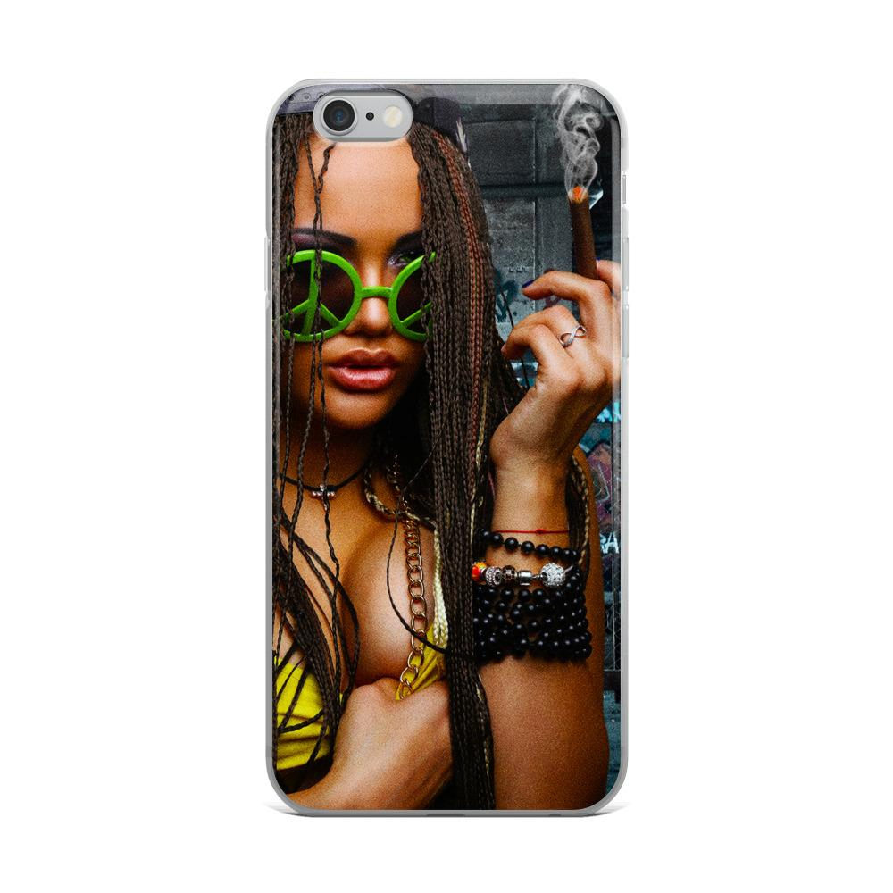 girl smoking iphone 6 case