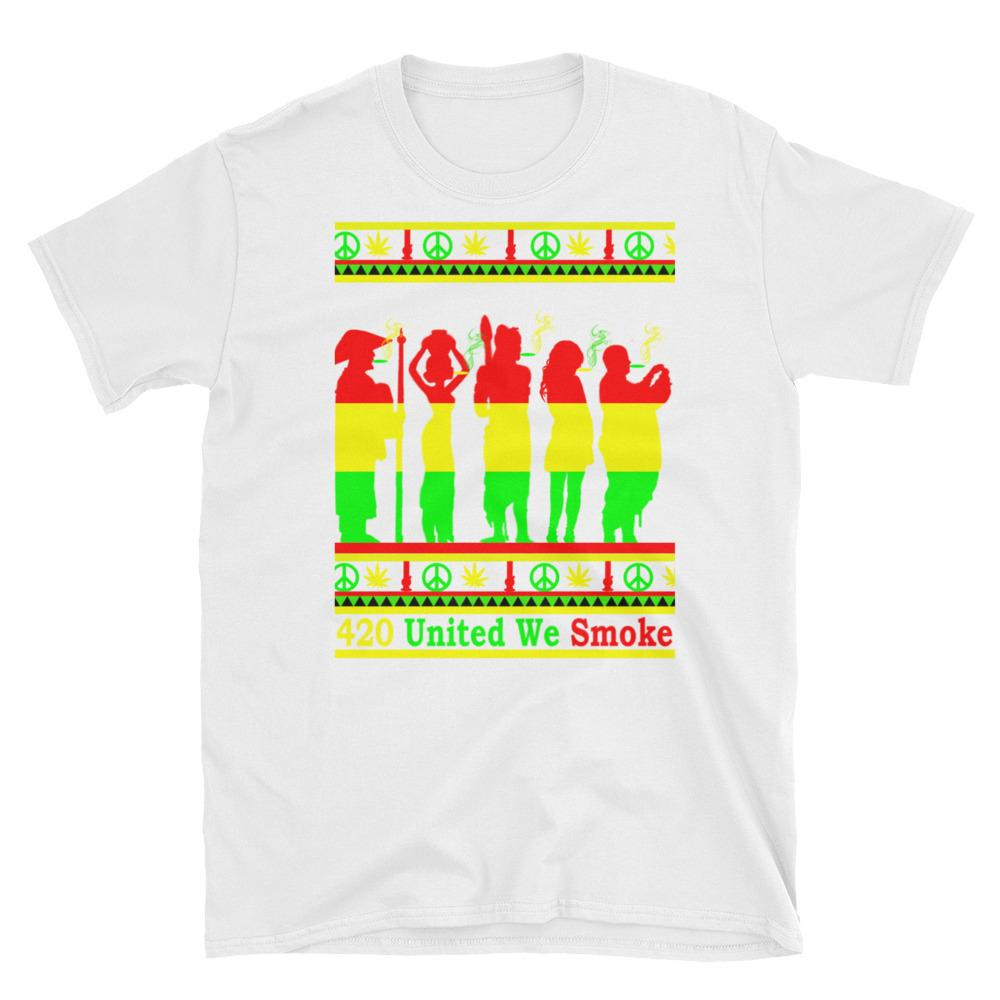 420 United Pot Smoker Shirt-420 Shirts $20 - 420 Weed Shirts