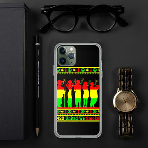Best Stoner iPhone Cases FT Rasta Colors Lit Phone Cases