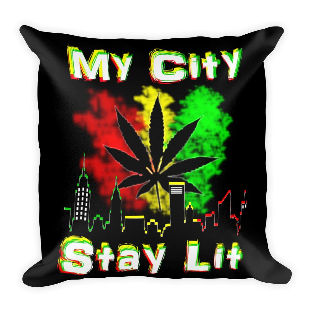 Dope Room Ideas Cool Weed Leaf Pillow Shop Now - 420 Weed Shirts