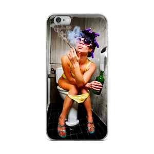 phone case girl getting high