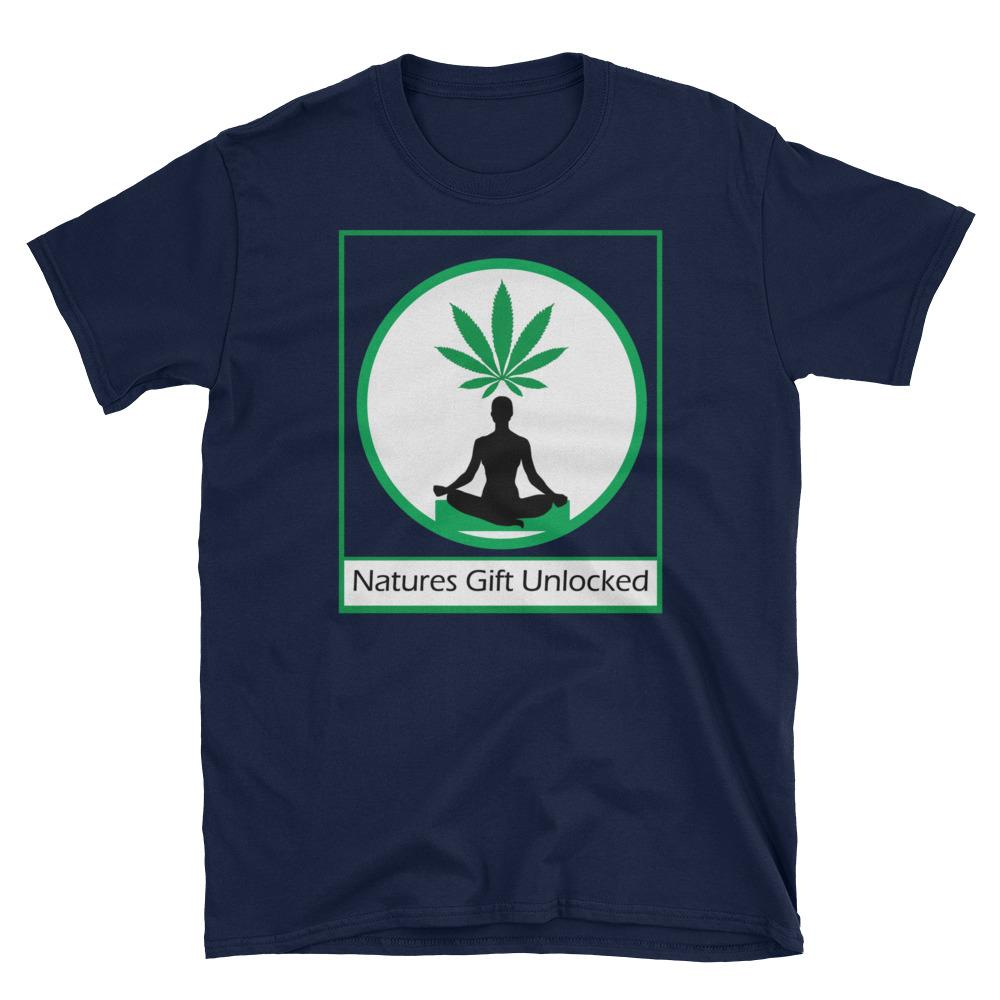 cool weed logo shirt