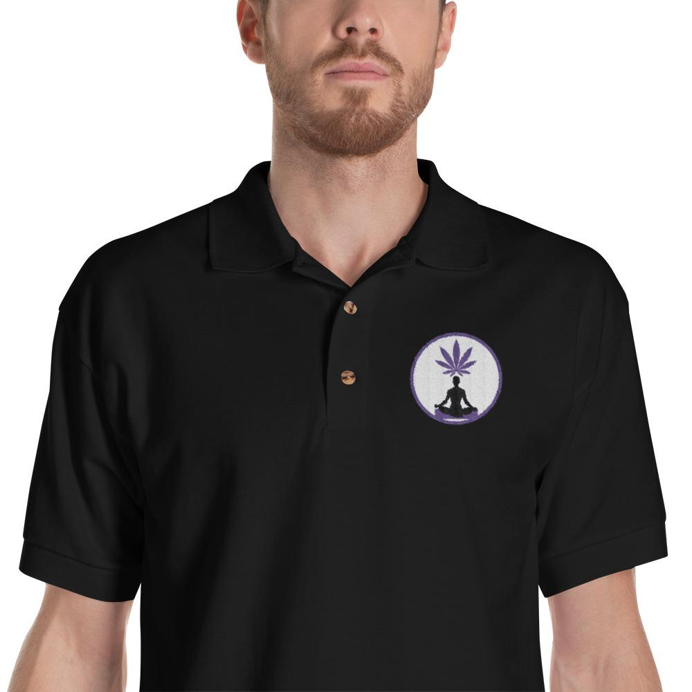 Purple Weed Polo