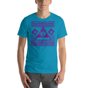 Purple Graphic Tee Unisex Stoner Shirt - 420 Weed Shirts