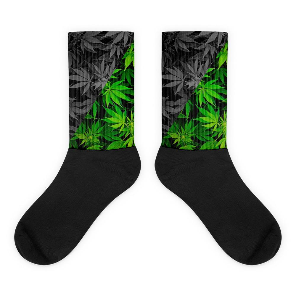 weed socks outfits