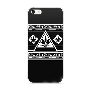 black pyramid phone case