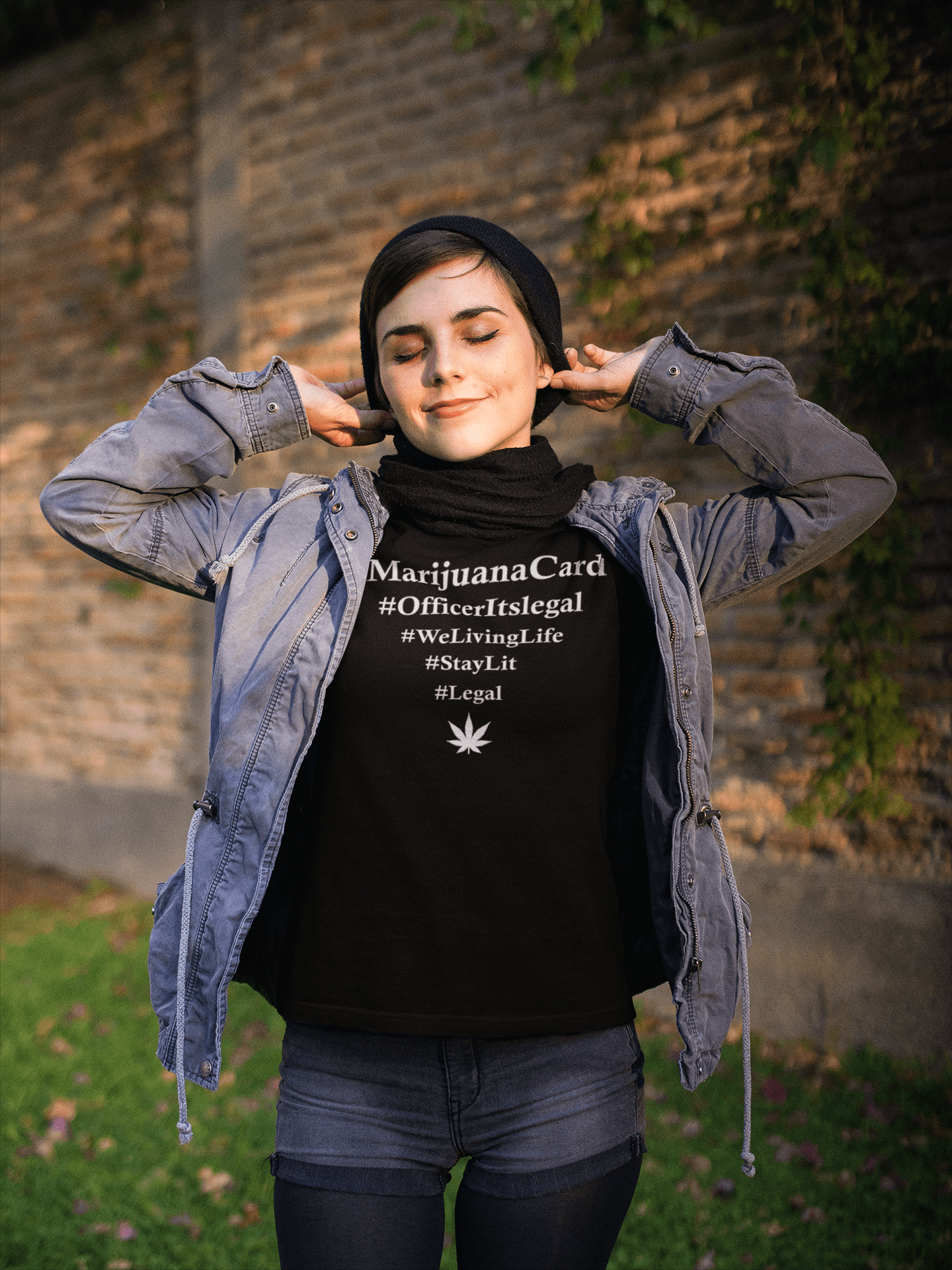 legalize weed shirt