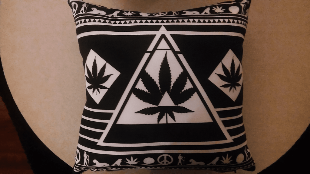 Cool Weed Pillows Dope Pyramid Pillow Exclusively Here - 420 Weed Shirts