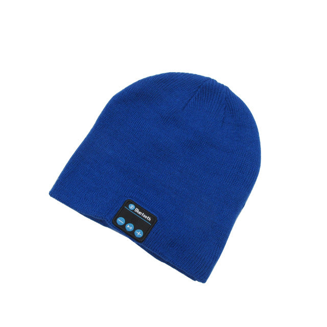 Beanie With Wireless Bluetooth Earphone and Speaker Mic