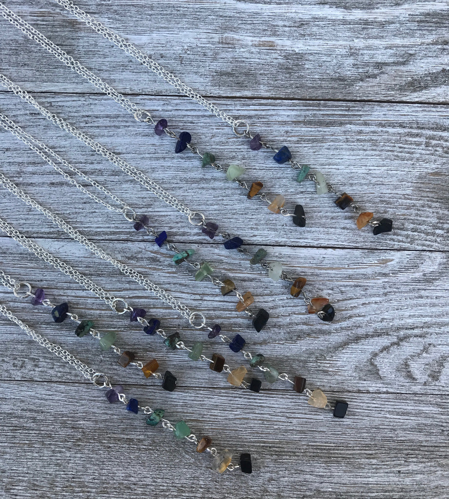 Chakra Meditation Necklace - SentimentalGems