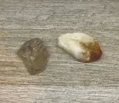 Citrine: Heat Treated and Natural