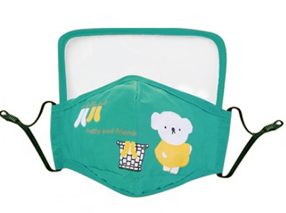 Adult & Childrens Mask with Removable Faceshield and Filters