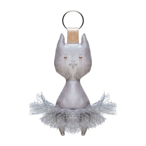 Ballerina Cat Keychain - St. Louis Dancewear - Wear Moi