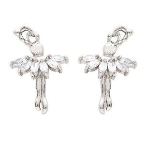 Ballerina Earrings - St. Louis Dancewear - Dasha