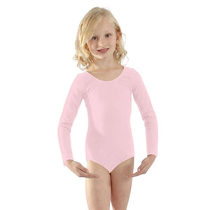Cotton Long Sleeve Leotard - St. Louis Dancewear - Basic Moves