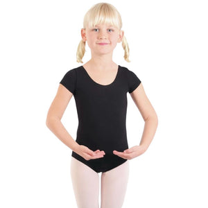Cotton Short Sleeve Leotard - St. Louis Dancewear - Basic Moves