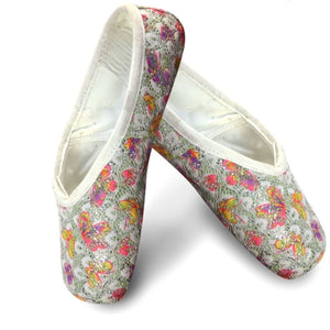 Decorative Shimmery Pointe Shoes - St. Louis Dancewear - Sansha