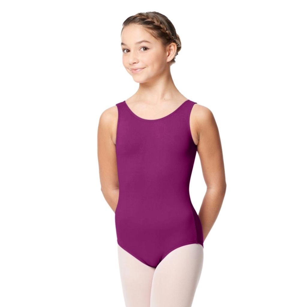 Girl's Grape Jewel-Tone Tank - St. Louis Dancewear - Lulli