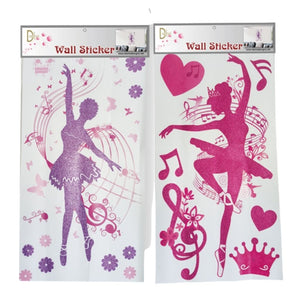 Glitter Wall Stickers - St. Louis Dancewear - Dasha