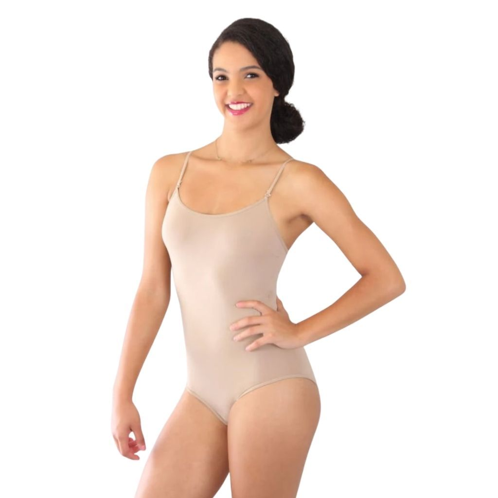 Mid-Back Bodysuit with No Padding - St. Louis Dancewear - Basic Moves