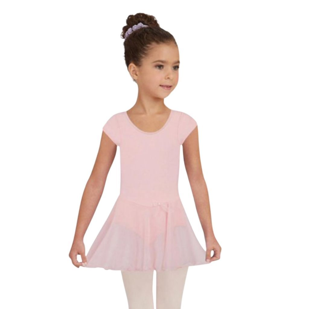 Nylon Short Sleeve Dress - St. Louis Dancewear - Capezio