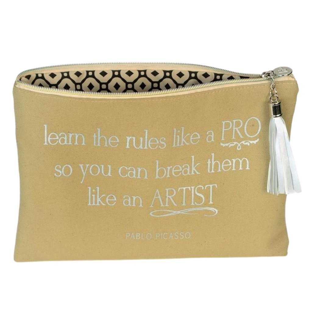 Picasso Quote Cosmetic Bag - St. Louis Dancewear - Printworks