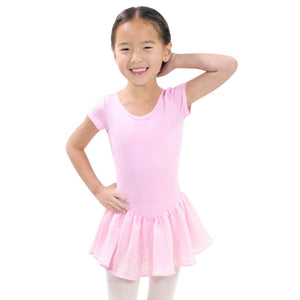 Short Sleeve Mesh Dress - St. Louis Dancewear - St. Louis Dancewear