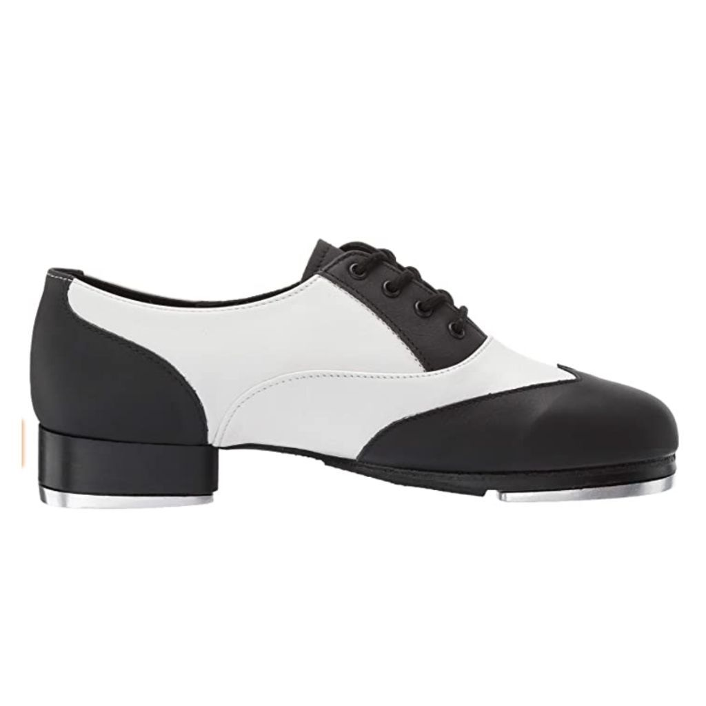Spectator Hard-Sole Tap Shoe - St. Louis Dancewear - Leo