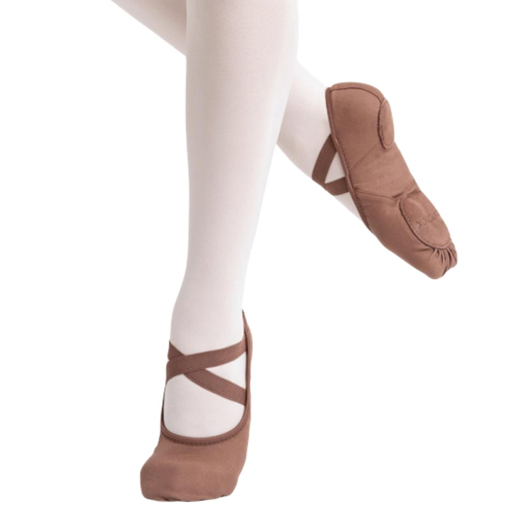 Women's Flesh Tone Canvas Ballet Slipper - St. Louis Dancewear - Capezio