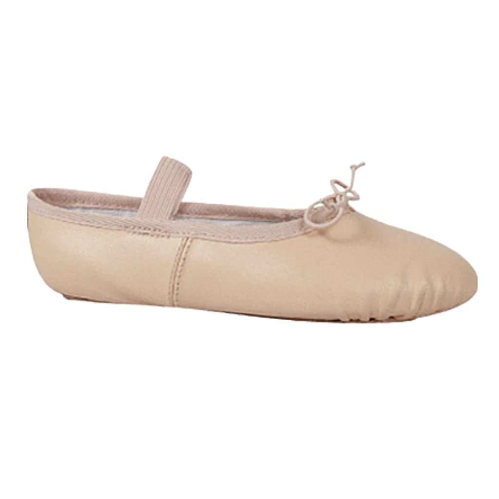Women's Full-Sole Leather Ballet Slipper - St. Louis Dancewear - Dance Class