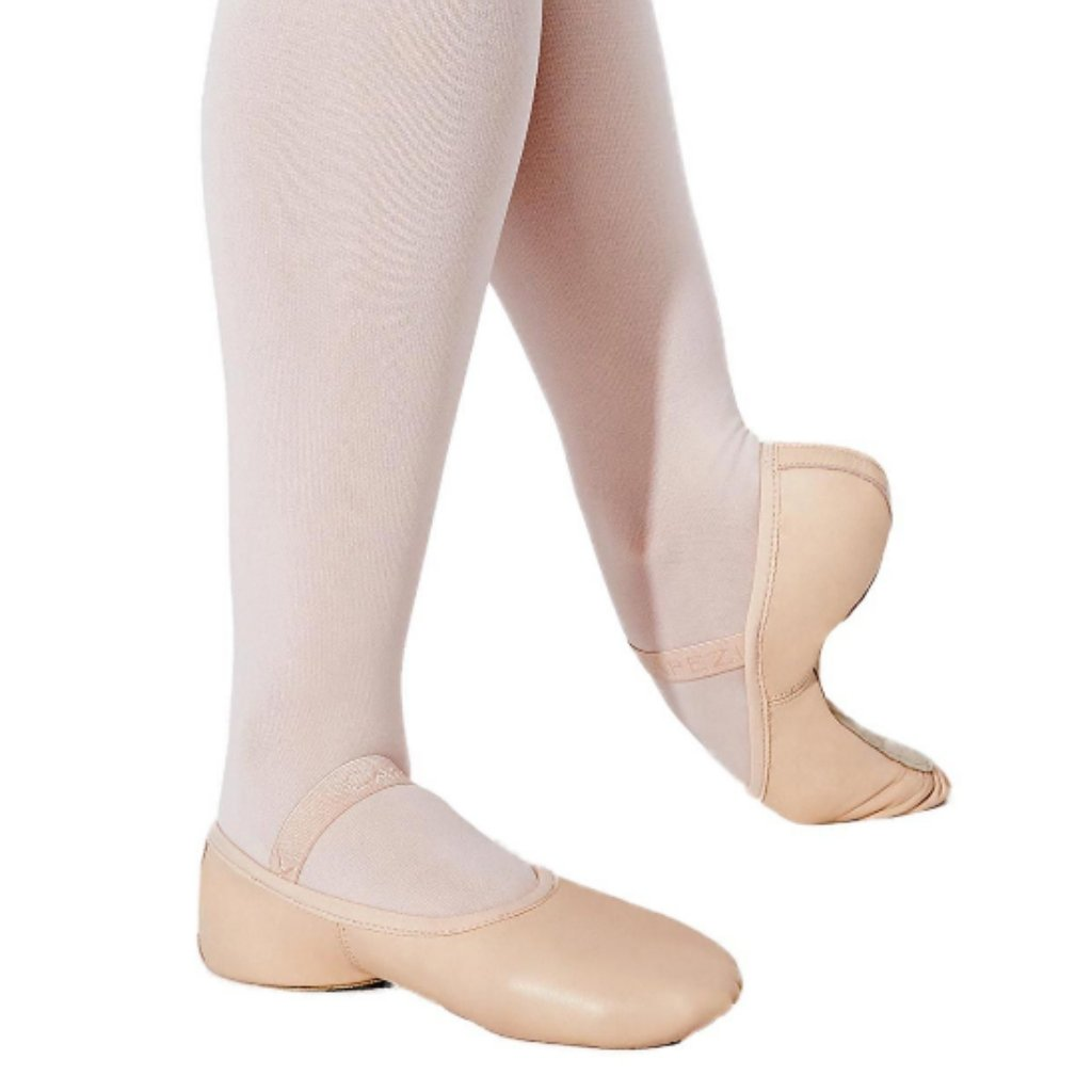 Women's Full-Sole Stretch Leather Ballet Slipper - St. Louis Dancewear - Capezio