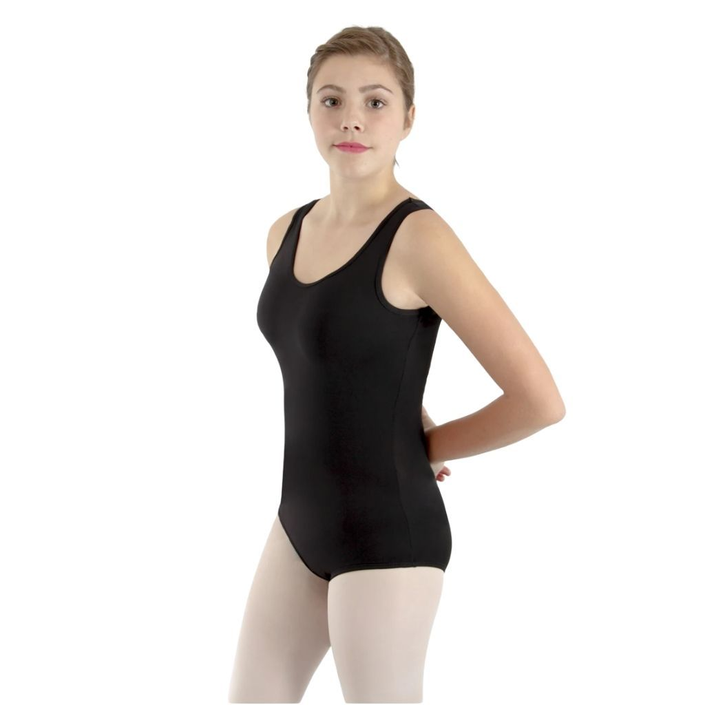 Women's Tank Leotard with Rhinestones - St. Louis Dancewear - Basic Moves