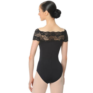 Youth Lace Cap Sleeve Leotard - St. Louis Dancewear - Gaynor Minden