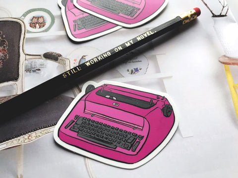 IBM Selectric 1 Typewriter Matte Vinyl Sticker