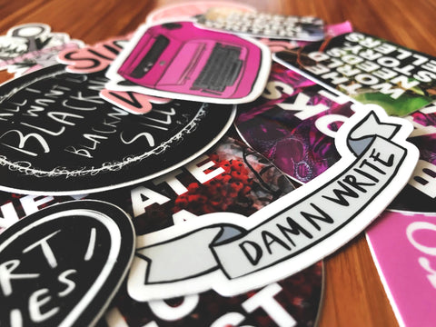 Mystery Sticker Pack - Lot of 7 (LIMITED TIME SALE!)