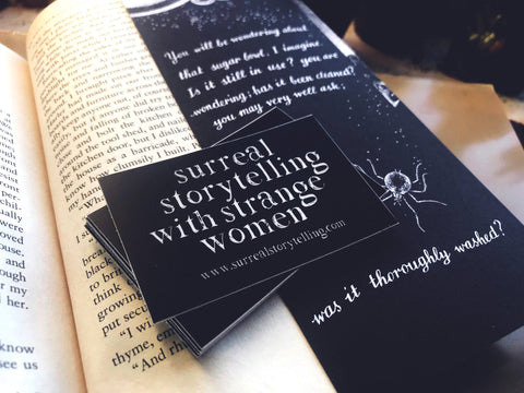 Surreal Storytelling with Strange Women Vinyl Sticker