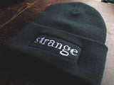 Surreal Storytelling with Strange Women / Strange Embroidered Black Beanie